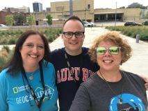 Tama Nunnelly, me, & Dr. Lisa Keys-Mathews